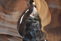 Antelope Canyon Stock Image