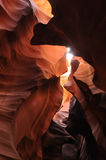 antelope canyon Στοκ φωτογραφίες με δικαίωμα ελεύθερης χρήσης