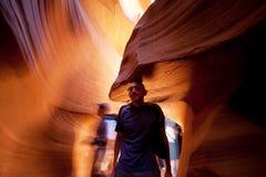 Antelope canyon Stock Photography