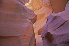 Antelope Canyon Abstract Royalty Free Stock Image