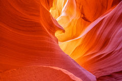 Antelope Canyon Abstract Landscape Stock Images