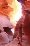 Antelope Canyon, America, Arizona Stock Photography
