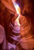 Antelope Canyon Arizona on Navajo land near Page Stock Photography