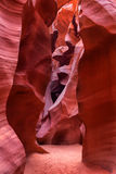 Antelope Canyon as seen in the early afternoon, Page, Arizona, U Stock Photography
