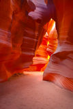 Antelope Canyon (The Bear) Royalty Free Stock Photos