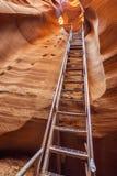 Antelope Canyon exit Stock Photo
