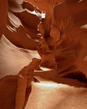 Antelope Canyon Formations Stock Image
