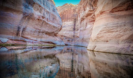 Antelope Canyon, Lake Powell, Arizona Stock Photos