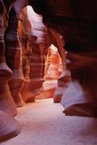 Antelope Canyon many walls Stock Photo