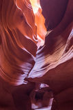 Antelope Canyon in the Navajo Reservation near Page, Arizona, USA. Stock Photo