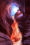 Antelope Canyon in Page, Arizona Stock Image