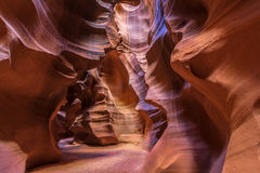 Antelope Canyon in Page, Arizona Royalty Free Stock Photos