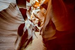 Antelope Canyon, Page, Arizona, USA Stock Photos