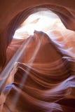 The Antelope Canyon, Page, Arizona, USA. Royalty Free Stock Photo