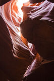 Antelope Canyon Sandstone Formations Royalty Free Stock Images