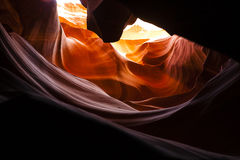 Antelope Canyon: Sandstone Waves of Color Royalty Free Stock Photos