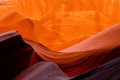 Antelope Canyon slot canyons Royalty Free Stock Photo