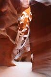 Antelope Canyon Towering Walls Royalty Free Stock Images
