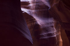 Antelope Canyon Wall texture Royalty Free Stock Image