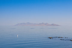 Antelope Island on the Great Salt Lake,USA. Royalty Free Stock Photography