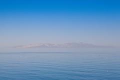 Antelope Island on the Great Salt Lake,USA. Stock Photos