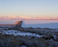 Antelope island looking eastward Royalty Free Stock Photography