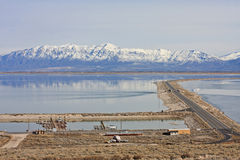 Antelope Island, Utah Royalty Free Stock Photo