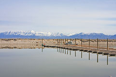 Antelope Island , Utah Stock Photos