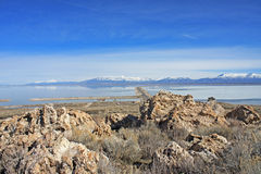 Antelope Island, Utah Stock Photos
