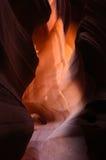 Antelope Slot Canyon. Near Page, Arizona Royalty Free Stock Photos