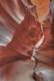 Antelope Valley, Slot Canyon, Page, Arizona Royalty Free Stock Photos