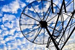 Anten satelitarnych anteny Fotografia Stock
