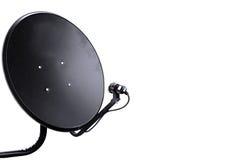 Anten satelitarnych anteny odizolowywać Fotografia Stock