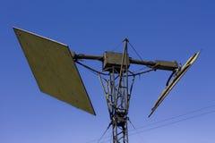 antena στρατιωτικό Στοκ Εικόνα