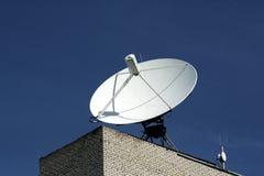 Antena 3 de la antena de plato Imágenes de archivo libres de regalías