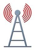 Antena stock de ilustración
