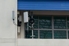 Antena all'aperto di Wifi Immagini Stock