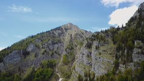 Antena Austriacki wysokogórski lasowy Wildnisgebiet Duerrenstein zdjęcie wideo