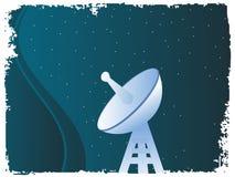 Antena basada en los satélites Imágenes de archivo libres de regalías