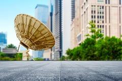 Antena basada en los satélites Foto de archivo