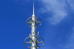 Antena blanca fotografía de archivo