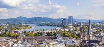 Antena Bonn poprzedni capita Niemcy obrazy stock