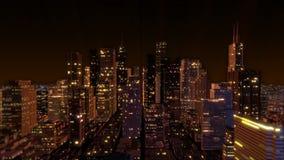 Antena céntrica del horizonte de la ciudad del metro (lazo) libre illustration