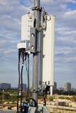 Antena celular Imagen de archivo libre de regalías