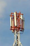 Antena celular Imágenes de archivo libres de regalías