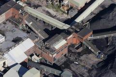 Antena da mina de carvão Foto de Stock Royalty Free