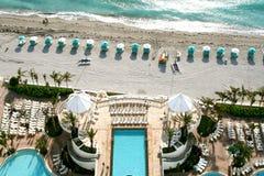 Antena da praia Foto de Stock Royalty Free