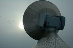 Antena da telecomunicação foto de stock
