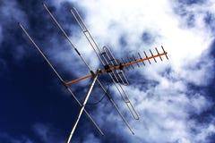 Antena da tevê Imagens de Stock