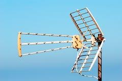 Antena da tevê Fotografia de Stock